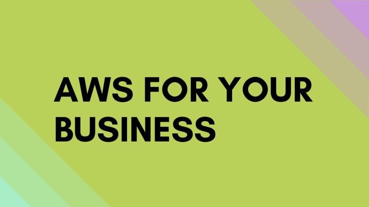 AWS Cloud Platform for Business
