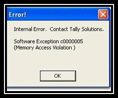 internal error c0000005 Memory Access Violation
