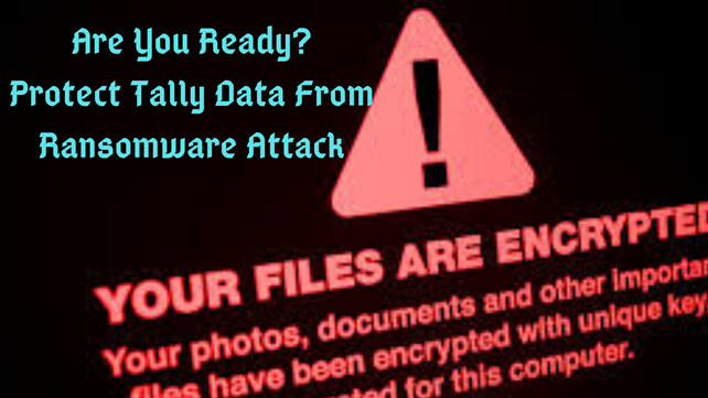 Protect tally data from ransomware