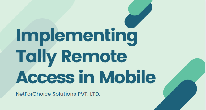 Implementing Tally Remote Access in Mobile