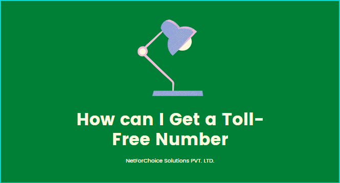 setup toll free number
