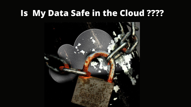 is my data safe in the cloud