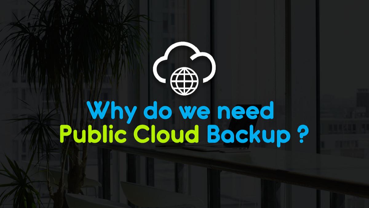 public cloud backup