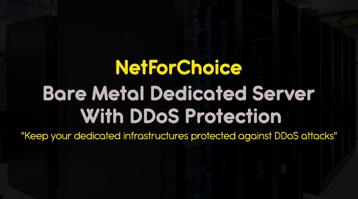 bare metal dedicated server with DDoS Protection