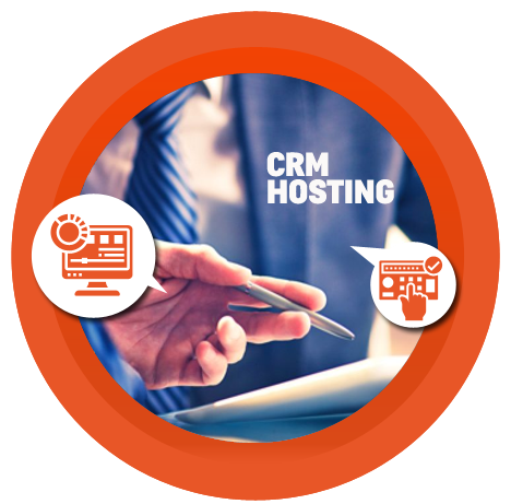 features of CRM hosting solution